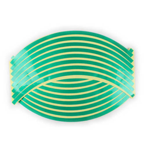 Felnicsík szett zöld -fényvisszaverős-
