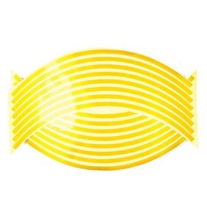 Felnicsík szett arany -fényvisszaverős-