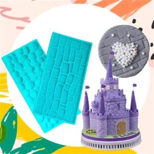 3D torta díszítő forma (6 db)