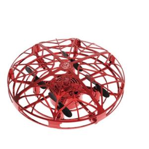 Intelligens, szenzoros UFO játék - légy a levegő királya! Piros