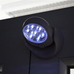 Mozgásérzékelő lámpa, LED relflektor, fali lámpa