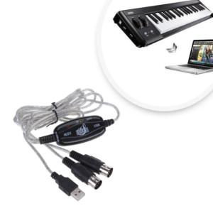 USB MIDI kábel USB MIDI adapter
