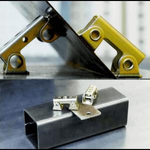 Mágneses fémrögzítő hegesztéshez, V típusú állítható hegesztőkapocs