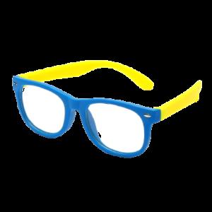 Gyerek kékfény blokkoló védőszemüveg  telefon, tablet, monitor elleni szemvédelem  kék-sárga. (Anti Blue Light)