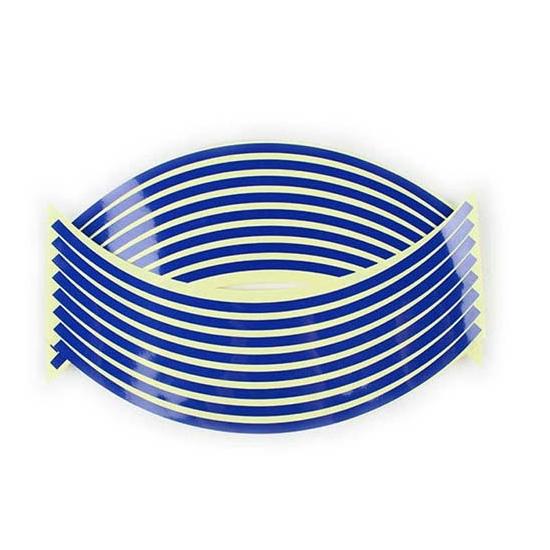 Felnicsík szett kék -fényvisszaverős-
