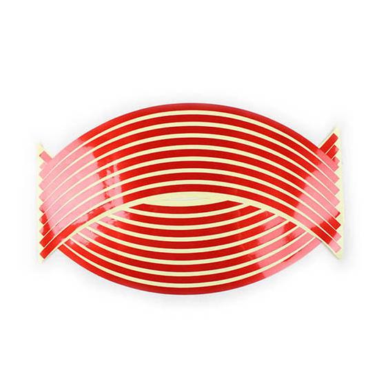 Felnicsík szett piros -fényvisszaverős-