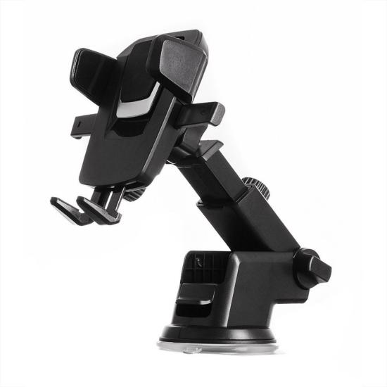 Öntapadós, teleszkópos autós telefontartó