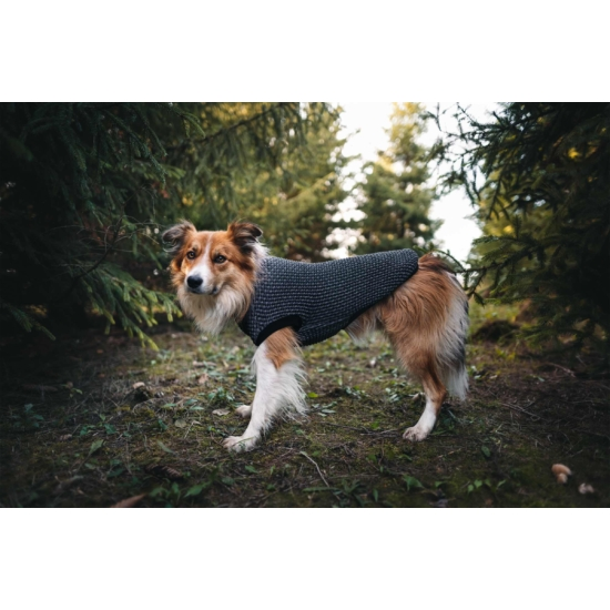 NRDOGS Kutyaruha szürke- L (37-45cm háthossz)
