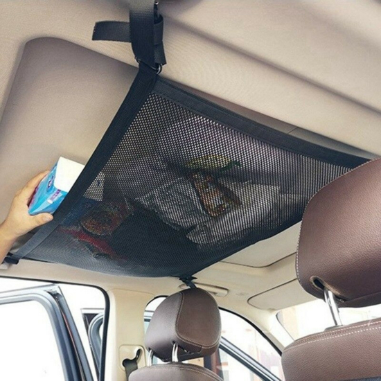 Hálós tároló autóba