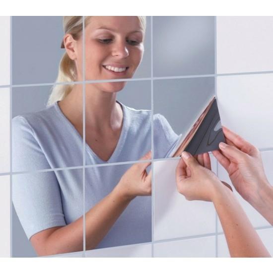 Tükör matrica, öntapadós tükör, dekor tükörfólia
