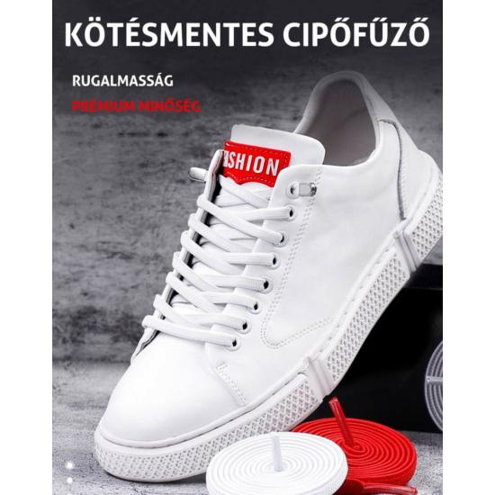 Kötésmentes cipőfűző-Fehér