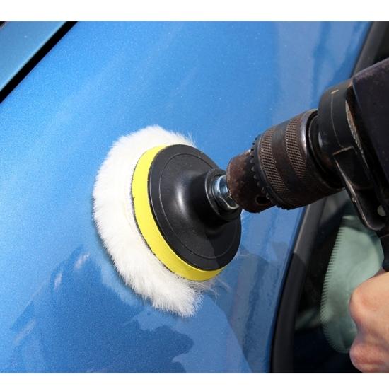 Autó polírozó szett (3 db polírkoronggal)