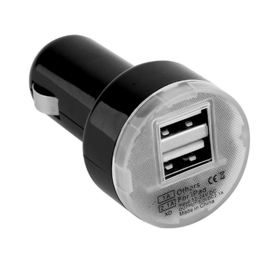 DUAL szivargyújtós USB töltő szivargyújtó USB töltő