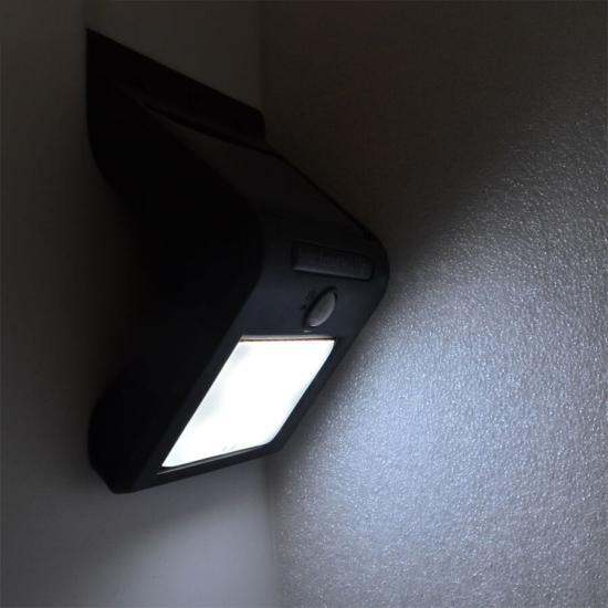 Hasta mozgásérzékelős kültéri napelemes lámpa