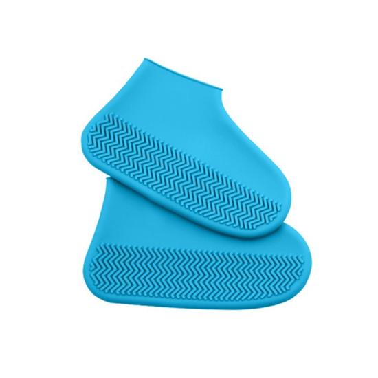 Cipővédő szilikon kék L (42-45)
