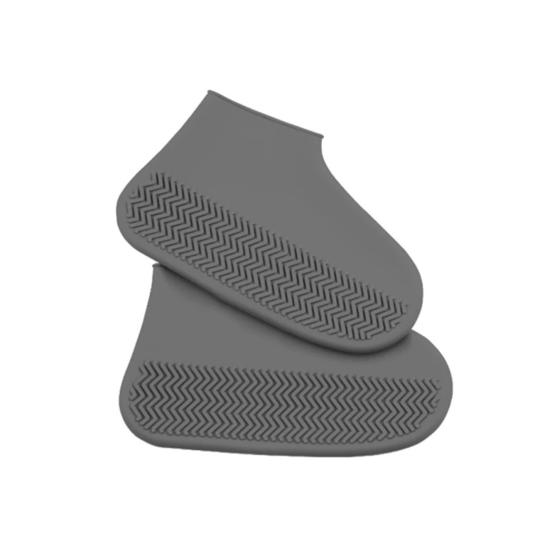 Cipővédő szilikon fekete S (30-34)
