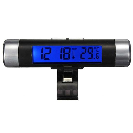Autós hőmérséklet, dátum és idő kijelző