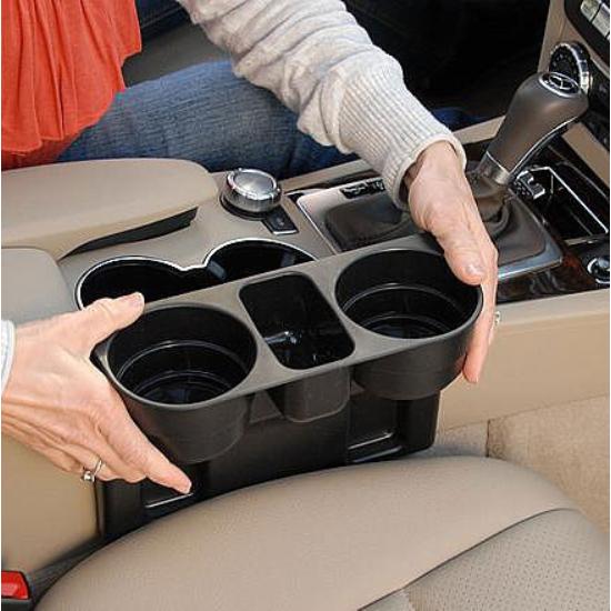 Autós pohártartó (2 db tartórésszel)
