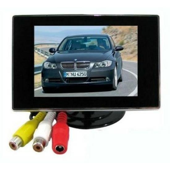 3.5'' TFT LCD mini monitor autóba színes tolatókamera monitor