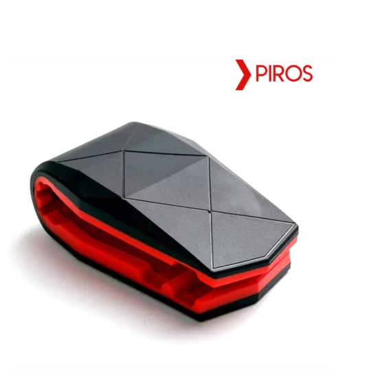Autós telefontartó műszerfalra Piros