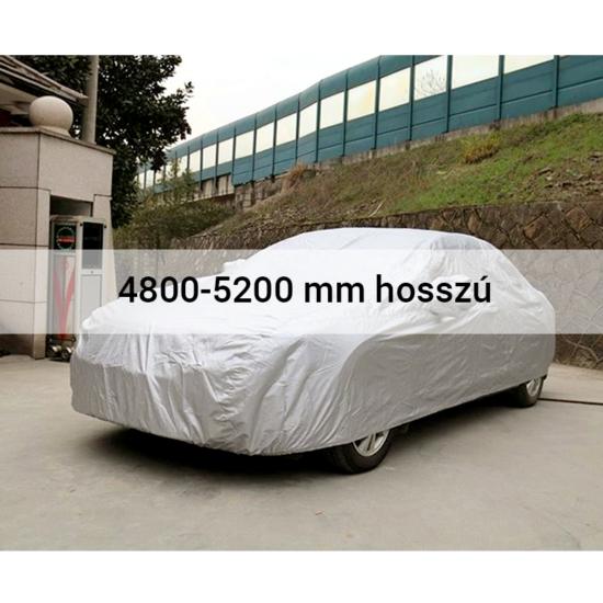 4 évszakos, teljes autótakaró ponyva 4800-5200 mm hosszú