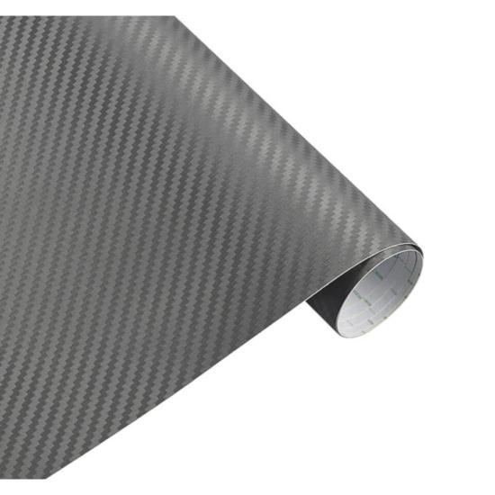 Karbon fólia, autófólia (127 x 15 cm) Szürke