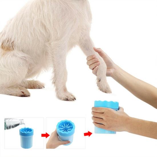 Mancstisztító kutyáknak Kék