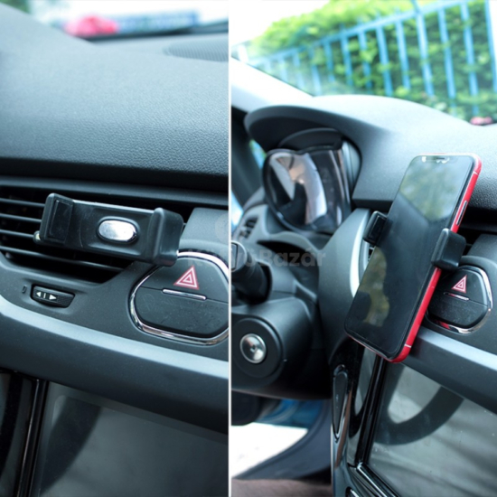 Autós telefontartó szellőzőrácsra