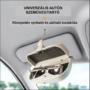 Kép 1/5 - Autós napellenzőre szerelhető napszemüveg/szemüveg tartó