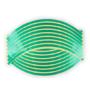 Kép 1/2 - Felnicsík szett zöld -fényvisszaverős-