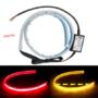 Kép 2/2 - DRL ledcsík hátsó lámpába index funkcióval 12V párban