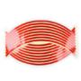 Kép 2/2 - Felnicsík szett piros -fényvisszaverős-