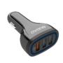 Kép 1/3 - Dudao gyorstöltős. 3 részes autós USB aljzat
