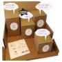 Kép 2/3 - Lacy Box - hatalmas baba mama ajándék - lenyomat készítők és ajándékok - kézszobor, lábszobor