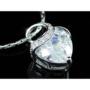 Kép 3/6 - Exclusive Swarovski kristályos szett szív alakú kővel, díszdobozban