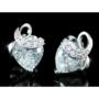 Kép 4/6 - Exclusive Swarovski kristályos szett szív alakú kővel, díszdobozban
