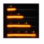 Kép 4/5 - Ledes nappali menetfény szett index funkcióval párban