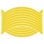 Kép 2/2 - 16 db Tuning felni csík sárga