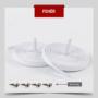 Kép 2/4 - Kötésmentes cipőfűző-Fehér