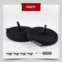 Kép 2/5 - Kötésmentes cipőfűző-Fekete