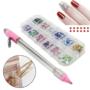 Kép 4/4 - Dekorációs készlet, 2000 DB díszítő Strasszkő ragasztó tollal