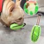 Kép 4/4 - Fogtisztító kutyajáték világoskék