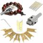 Kép 1/4 - Fa gyöngy készítő fúrószár készlet