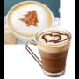 Kép 2/12 - Latte art barista sablon, kávé díszítő sablon