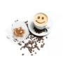 Kép 3/12 - Latte art barista sablon, kávé díszítő sablon