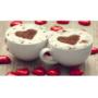 Kép 7/12 - Latte art barista sablon, kávé díszítő sablon