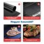 Kép 16/18 - Grill sütőlap, grill alátét (tapadásmentes)