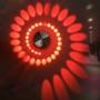 Kép 1/3 - Spirál formájú izzó Piros