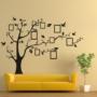 Kép 2/11 - Falmatrica, faltetoválás, fényképkeretes fa fali matrica