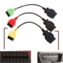 Kép 4/5 - FIAT diagnosztika FiatEcuScan szett interfész + kábel adapterek ABS LÉGZSÁK MOTOR